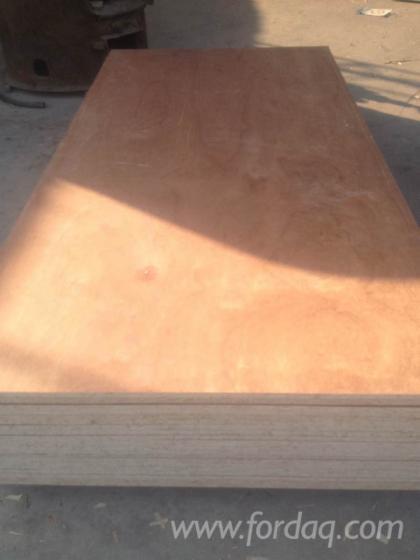 Wood-veneer-laminated
