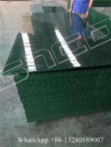 Plywood CE - Green PP plastic formwork plywood, plastic shuttering ply board