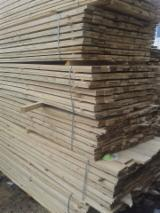 Nadelschnittholz, Besäumtes Holz Tanne Weiß- - Bretter, Dielen, Tanne , Kiefer  - Föhre, Fichte
