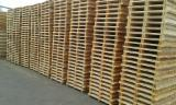Pallets – Packaging - Pine pallets offer from Poland