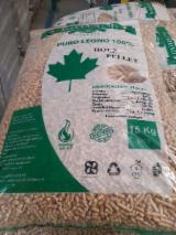 Wholesale  Wood Pellets Italy - White pellets Certified