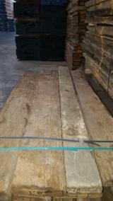 Hardwood  Unedged Timber - Flitches - Boules - RECLAIMED OLD OAK