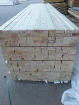 Spruce/Pine planed low-grades, KD, thick 38/45/73