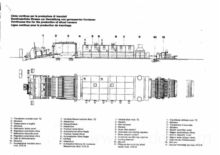 Used-A-Cremona-TZ-4000-1990-Veneer-Slicer-For-Sale-in
