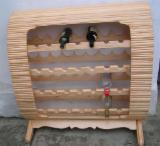 Kitchen Furniture - Contemporary Fir (Abies alba, pectinata) Wine Cellars Romania