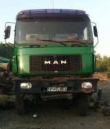 Forest & Harvesting Equipment  - Fordaq Online market - Used MAN 1995 Short Log Truck Romania