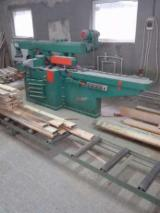 Schneider Woodworking Machinery - Used SCHNEIDER 1980 Moulding Machines For Three- And Four-side Machining For Sale Romania