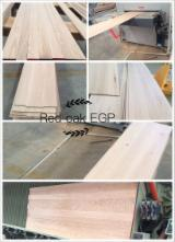 Solid Wood Panels   China - Fordaq Online market SELL RED OAK EGP PANELS