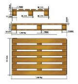 Buy Or Sell Wood Moulded Pallet Block - Pallets of all sizes with the IPPC