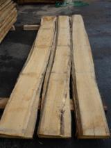 Hardwood  Unedged Timber - Flitches - Boules - Oak, unedged, KD
