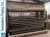 Holzbearbeitungsmaschinen Spanien - Gebraucht 1995 CORTAZAR Sperrholzpresse für ebene Flächen in Spanien