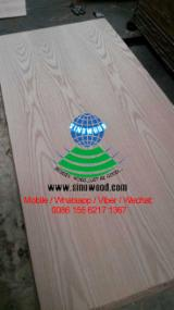 915*2135MM (3'*7') natural red oak plywood for door