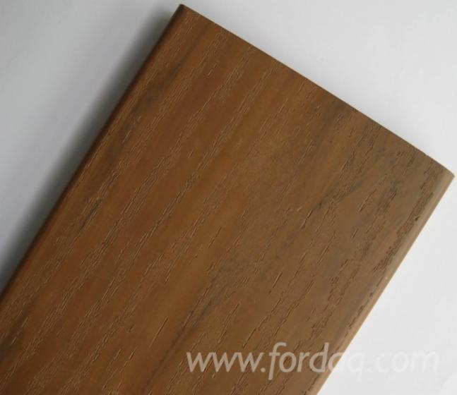 Pvc decking for Vinyl decking material