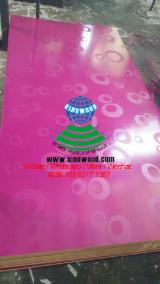New design melamine mdf board, slot mdf board