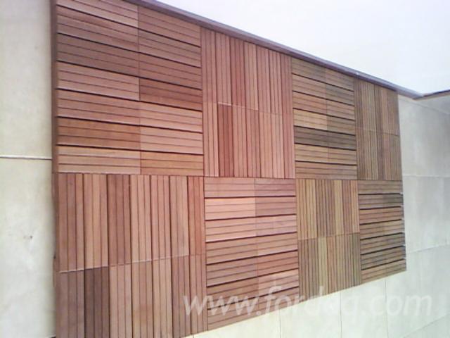 Dalle caillebotis en bois exotique ip et massaranduba - Caillebotis bois exotique ...