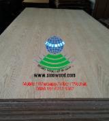 Natural ash veneered mdf board, EV ash mdf