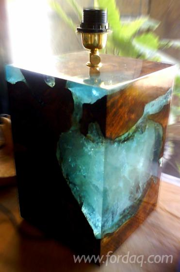 Wooden Resin Table