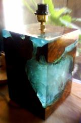 Art & Crafts/Mission Living Room Furniture - Wooden Resin Table