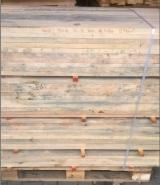 Softwood  Sawn Timber - Lumber - Dry edged timber with a blue stain and mold for sale