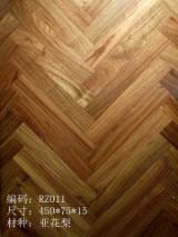 China Parquet - 15-25 mm Oak (European) Parquet Tongue & Groove in China