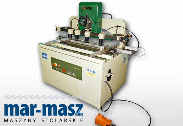 SCM-MB-29-multi-spindle-drilling-machine--woodworking-machine--used-drilling-machine
