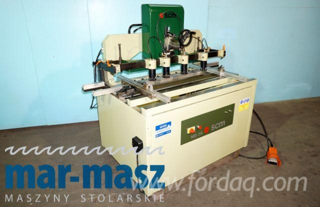 Used SCM MB 29 Multi-Spindle Drilling Machine