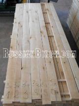Hardwood - Square-Edged Sawn Timber - Lumber Supplies Russian Birch, Economy grades, KD8%, 4/4 (25,4mm), RW, 2A Com, 3A Com