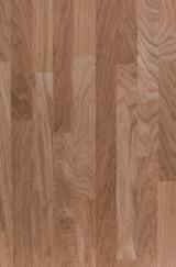 Edge Glued Panels Discontinuous Stave Finger-joined Lithuania - Solid wood panel Oak