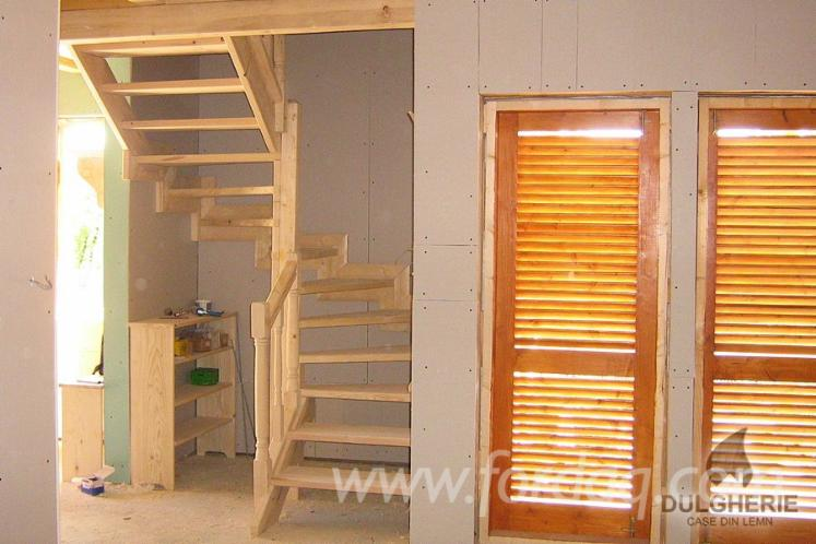 Spruce-%28picea-Abies%29---Whitewood-Stairs-from