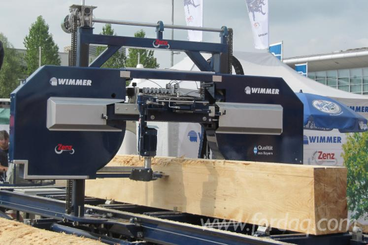 New-Zenz-Wimmer-Z-160-S-Log-Band-Saw-Horizontal-in