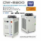 Finishing And Treatment Products - S&A water cooled industrial chillers for ozone generators cooling