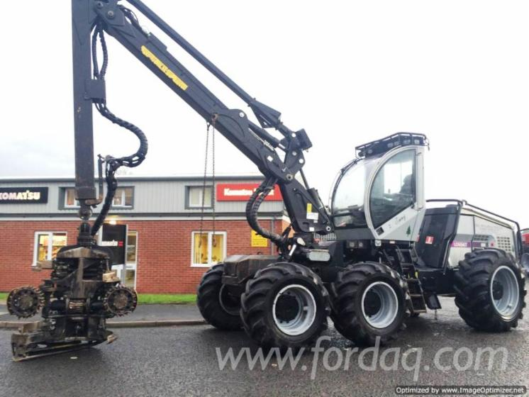 Used-2012-Logset-8H-Harvester-in
