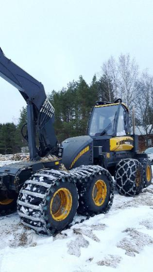 Used-2013-Ponsse-Ergo-8WD-Harvester-in