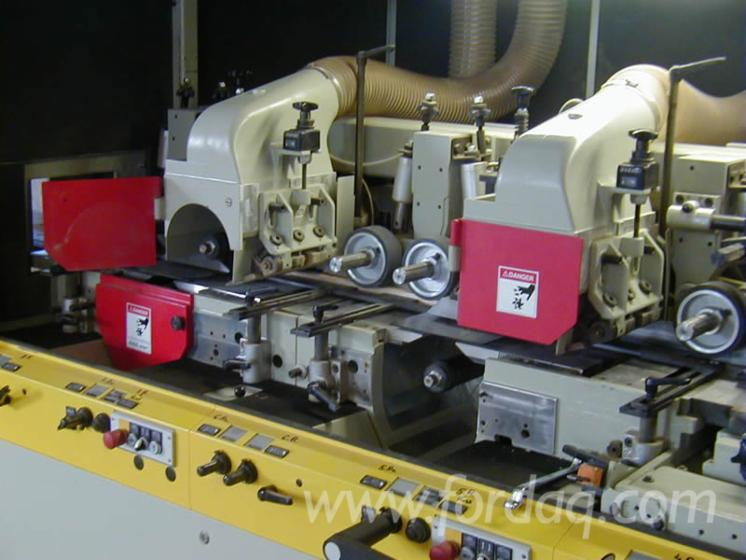 Used-2003-Weining--23---EL-8-alberi-Moulding-machines-for-three--and-four-side-machining-in