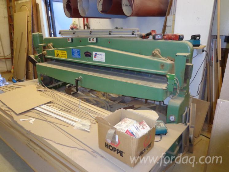 Veneer-guillotine-MANEA-2600mm-automatic-mechanic