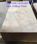 Okoume Laminated MDF/Veneer Laminated MDF /Natural wood veneer MDF