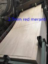 null - Natursperrholz, Meranti, Dark Red
