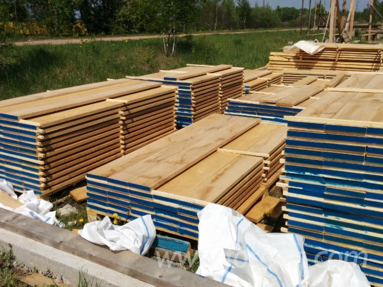 Oak sawn lumber timber of hardwood oak for 6 metre decking boards