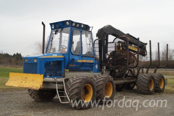 Used-2006-Rottne---14127-MAS-Solid-F14-Forwarder-in