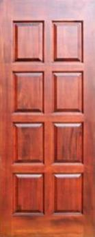 Двері, Вікна, Сходи - Азіатська Листяна Деревина, Двері, Merbau