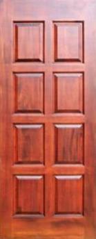 Двері, Вікна, Сходи - Азійські породи, Двері, Merbau