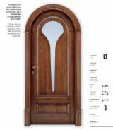 Holzkomponenten, Hobelware, Türen & Fenster, Häuser - Nordamerikanisches Laubholz, Türen, Massivholz, Tulpenbaum