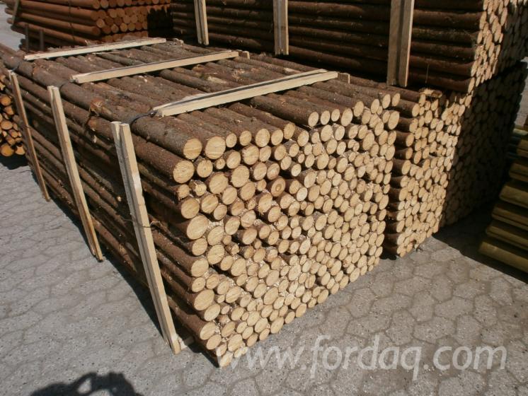 Fir-poles-with-bark