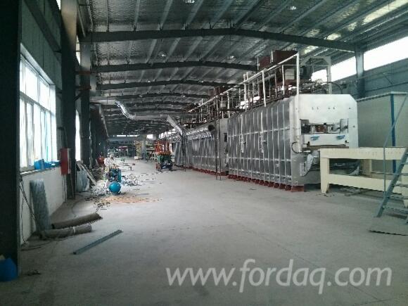 MDF-production