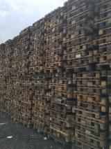 Pallets – Packaging - Euro Pallet - Epal, Recycled - Used in good state