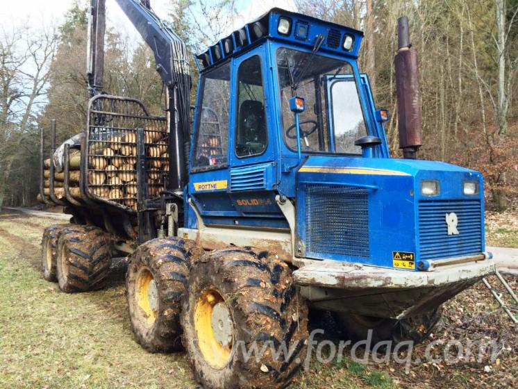 Used-2006-Rottne-Forwarder-in