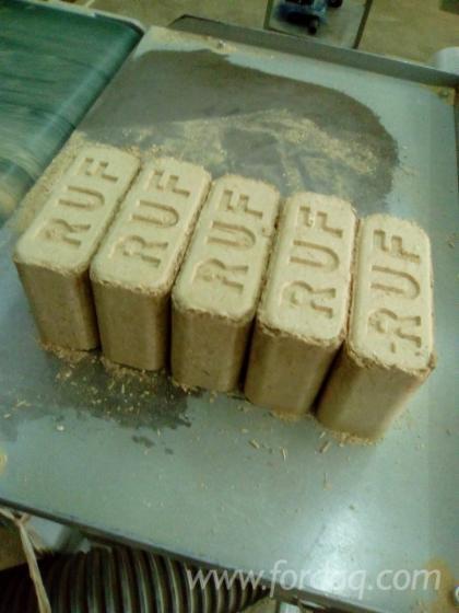 Oak Wood Briquets 160*100*65 mm