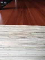 White melamine laminted plywood