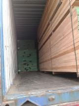 Unedged Tropical Timber - Acajou sawn timber offer