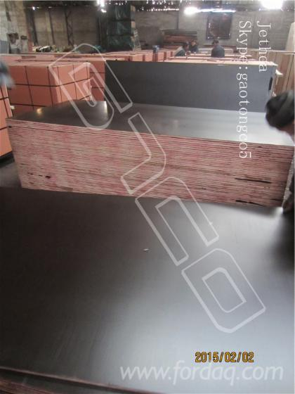 Black-film-faced-shuttering-marine-plywood--shuttering-concrete-formwork--Formply